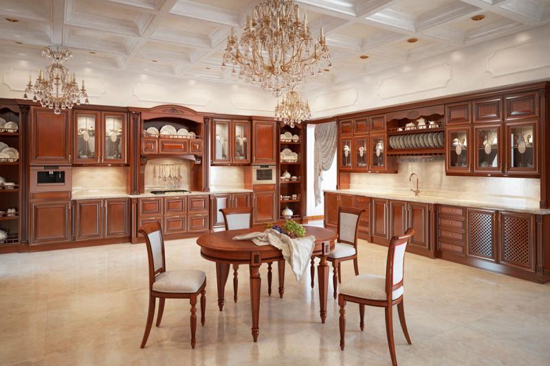 Купить отдельно кухонные фасады из массива дерева