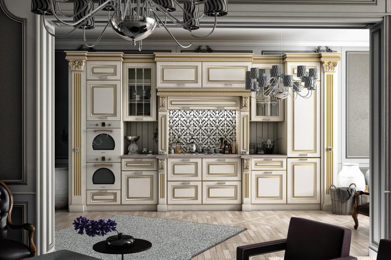 Виды кухонных фасадов