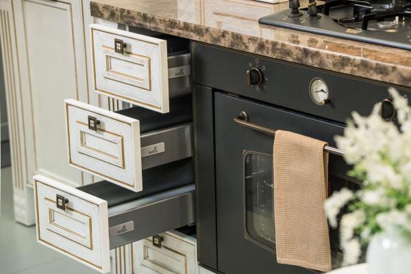 Фасады кухонных шкафов в стиль кухни