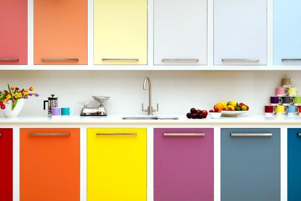 Выбираем цвет фасада кухни